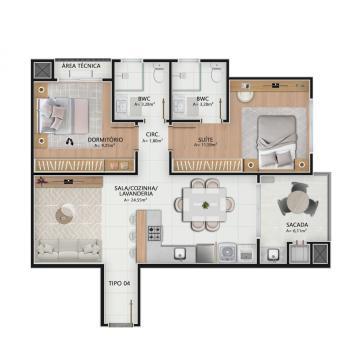 Comprar Apartamento / Padrão em Navegantes R$ 470.000,00 - Foto 22