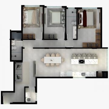 Comprar Apartamento / Padrão em Navegantes R$ 404.000,00 - Foto 9
