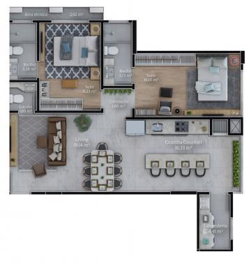 Alugar Apartamento / Padrão em Navegantes. apenas R$ 570.000,00